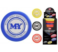 "PROFESSIONAL FLYER DISC 180g IN DISPLAY BOX ""M.Y"""