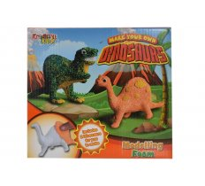DINOSAUR MODELLING ART SET IN COLOUR BOX